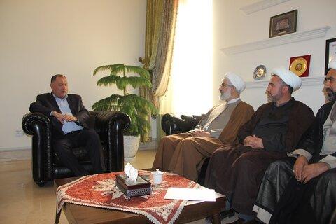 دیدار با شهردار قزوین