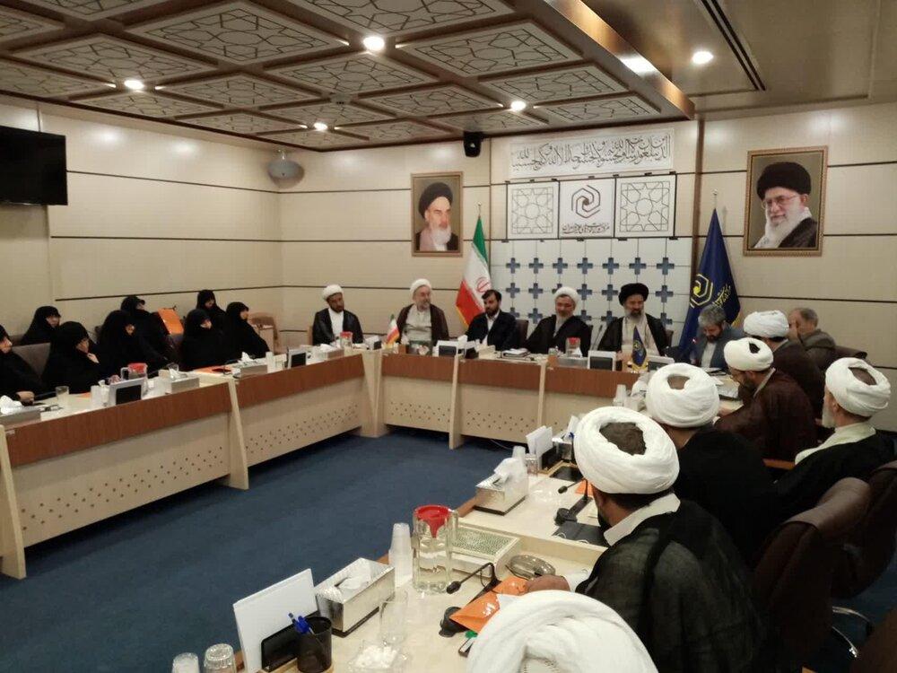مراسم تکریم و معرفی مدیرکل روابط عمومی حوزه علمیه خواهران  برگزار شد