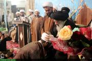 تصاویر/ جشن عمامه گذاری طلاب مدرسه علمیه امام خامنه ای اهواز