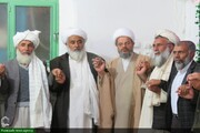 بالصور/ احتفال بمناسبة أسبوع الوحدة الإسلامية في مدينة سمنان الإيرانية
