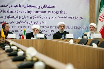 تصاویر/ یازدهمیندور گفتگوی دینی ایران و کلیسای واتیکان(1)