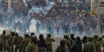 نگاهی به اعتراضات مردم اکوادور نسبت به وضعیت نامناسب اقتصادی