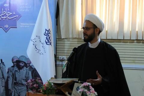 آیین شب خاطره در جامعه المصطفی العالمیه تبریز