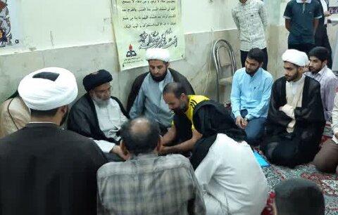 حضور امام جمعه اهواز در منطقه کوی مدرس