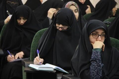 تصاویر/ گردهمایی سالانه خواهران مبلغ استان قم