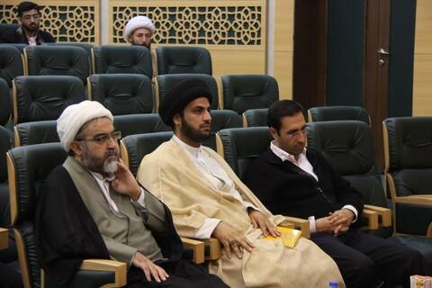 تصاویر/ مراسم رونمایی از چهار اثر بنیاد فرهنگی امامت