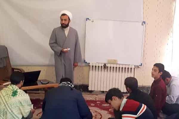 برگزاری کارگاه هدایت تحصیلی در مدرسه امام صادق(ع) مهریز