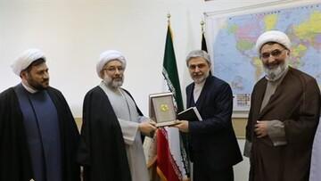 دیدار سفیر ایران در پاکستان با رئیس جامعةالمصطفی