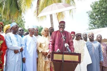 برگزاری جشن میلاد پیامبر(ص) و گرامیداشت هفته وحدت در ساحل عاج