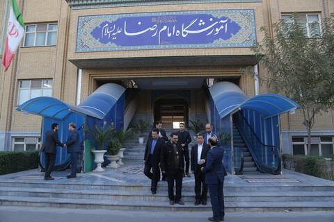 تصاویر/ بازدید دبیرکل انجمن مسلمانان چین از جامعة الزهرا (س)