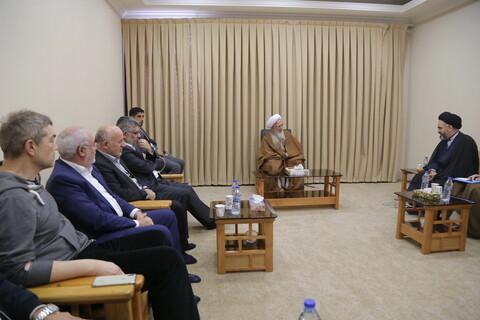 تصاویر/ دیدار جمعی از اساتید علوم دینی دانشگاه های ترکیه با آیت الله العظمی جوادی آملی