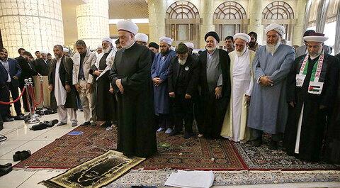 نماز وحدت در سی و سومین کنفرانس وحدت