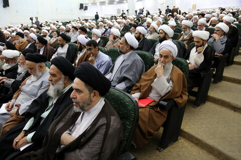 تصاویر/ بیست و یکمین اجلاسیه اساتید سطوح عالی و خارج حوزه علمیه قم-1