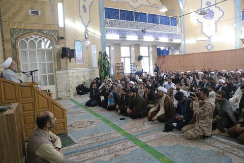 تصاویر/ نشست بصیرتی در مدرسه علمیه معصومیه قم
