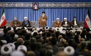 بالصور/ لقاء مسؤولي النظام وضيوف مؤتمر الوحدة الإسلامية بالإمام الخامنئي