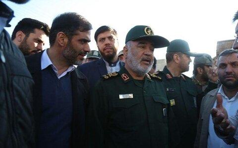 سردار سلامی در تبریز