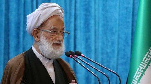 آیت الله امامی کاشانی در نمازجمعه تهران