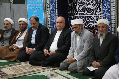 تصاویر/ مراسم جشن میلاد حضرت محمد(ص) و امام جعفرصادق(ع) در بجنورد