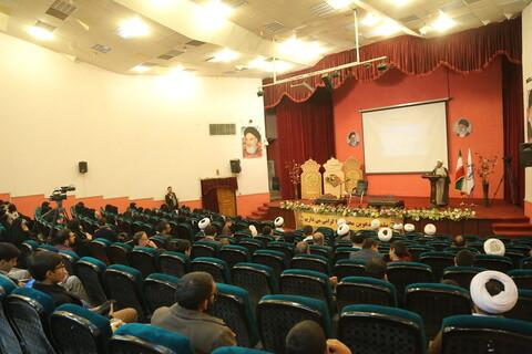 تصاویر/ اختتامیه مسابقات سراسری حفظ قرآن کریم ویژه همسر و فرزندان طلاب