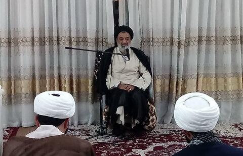 حجت الاسلام فقیهی در جلسه طلاب اندیمشک