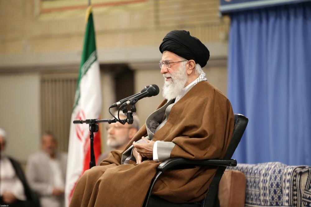 صوت کامل بیانات رهبر انقلاب در دیدار مسئولان نظام و میهمانان کنفرانس وحدت اسلامی