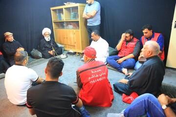 جمعی از شیعیان عربستان با آیت الله العظمی بشیر نجفی دیدار کردند