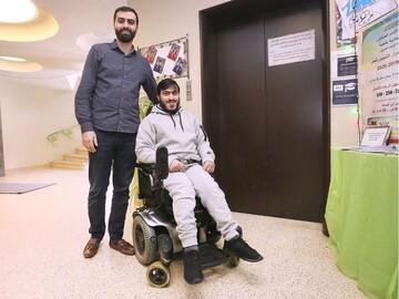 یک جوان مسلمان فلج به دنبال ساخت آسانسور برای مسجد شیعیان در کانادا است