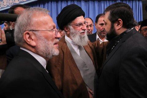 دیدار مسئولان نظام، مهمانان کنفرانس وحدت اسلامی، سفیران کشورهای اسلامی