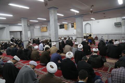 تصاویر/ گردهمایی طلاب و فضلای استان قزوین