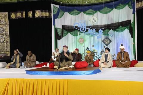 تصاویر/ جشن صادقین در حوزه علمیه عروةالوثقی لاهور پاکستان