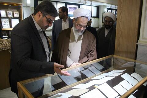 تصاویری از مرکز اسناد حوزه و روحانیت
