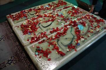 تصاویر/ مراسم گرامیداشت شهدای گمنام مدرسه علمیه معصومیه