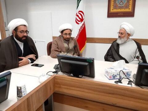 دیدار مدیر سازمان مدارس صدرا با امام جمعه زنجان