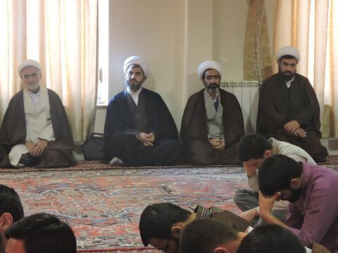 درس اخلاق آیت الله بنابی در مدرسه علمیه ولیعصر(عج) تبریز