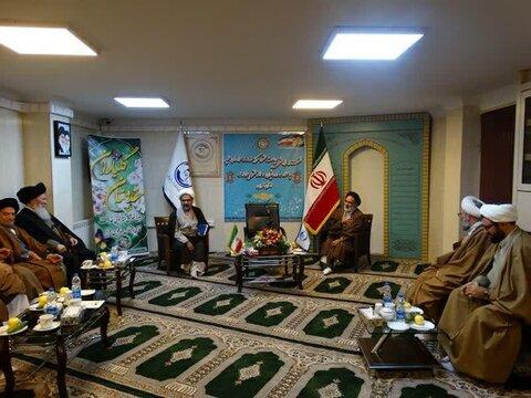 جلسه هم اندیشی علماء، روحانیون و ائمه جماعات استان تهران