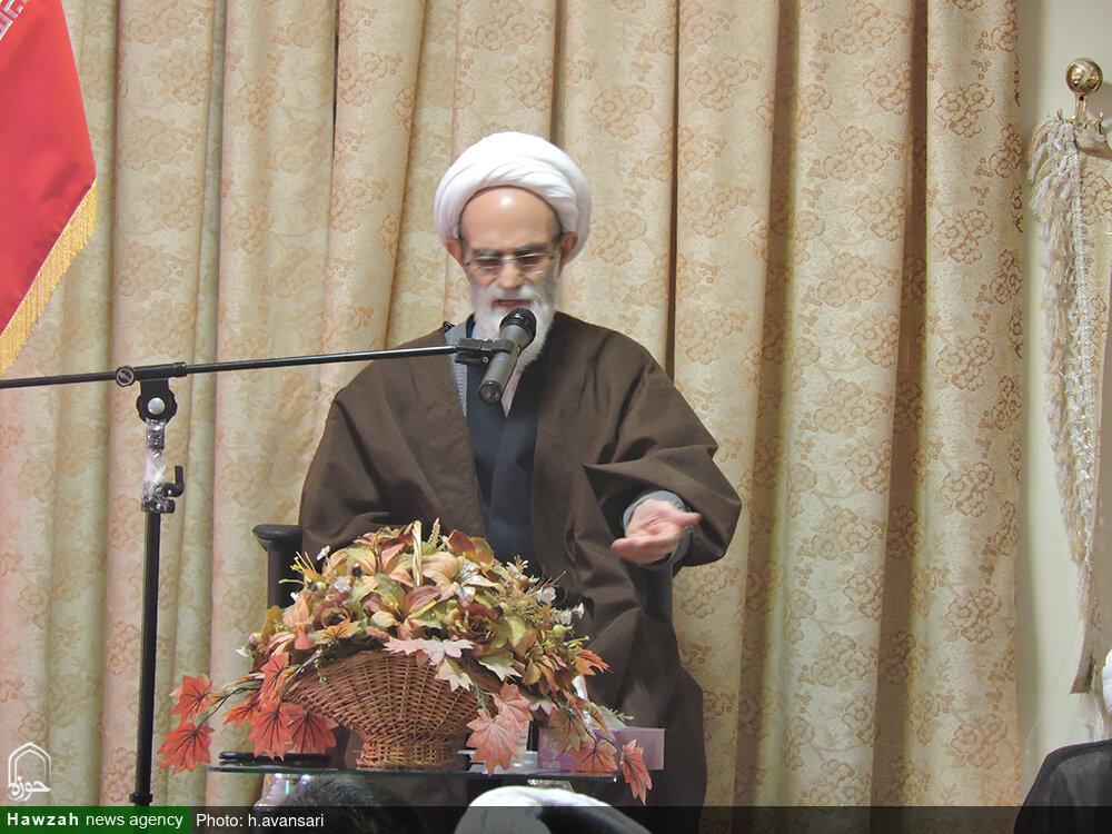 درس اخلاق شیخ عبدالمجید باقری بنابی