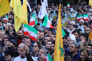 فیلم/ خروش انقلابی مردم تبریز