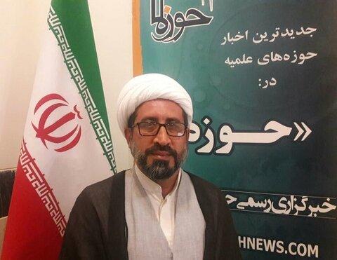 حجت الاسلام مختار سلیمانی مدیر مدرسه علمیه حافظین قرآن کرمانشاه