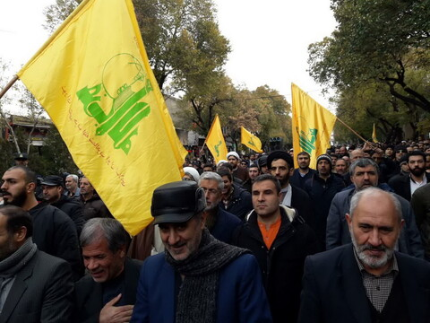 راهپیمایی باشکوه تبریزی ها در حمایت از  مواضع رهبری