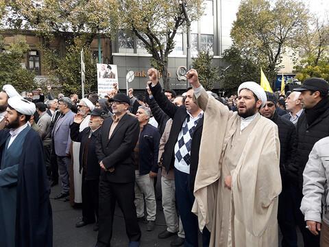راهپیمایی و تجمع مردم تبریز در حمایت از امنیت و اقتدار کشور