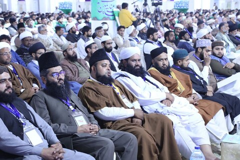 تصاویر/ کنفرانس وحدت اسلامی در حوزه علمیه عروة الوثقی لاهور پاکستان