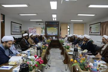 نشست مشترک اوقاف و حوزه علمیه مازندران برگزار شد