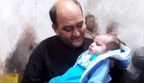 محمد سینا، نوزاد چهل روزه شهید ابراهیمی