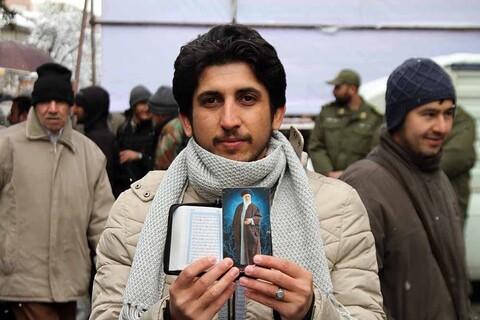 راهپیمایی دفاع از اقتدار و امنیت در همدان