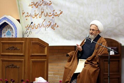 سخنرانی آیت الله العظمی سبحانی در همایش بزرگ نقش علم اصول در تفسیر قرآن کریم