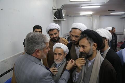 تصاویر/ گردهمایی طلاب و فضلای کرمانشاهی مقیم قم