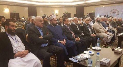 شیخ احمد قطان روحانی اهل سنت لبنان
