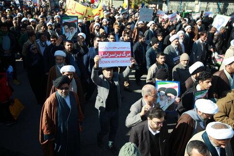 خروش انقلابی مردم قم در حمایت از اقتدار و امنیت کشور