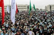 فیلم/ خروش مردم مشهد در محکومیت اغتشاشات