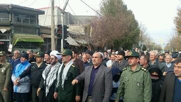 مردم سراب در دفاع از انقلاب اسلامی به خیابانها آمدند
